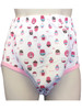 Cuddlz Cup Cake Design Padded Pull Up Pants For Adults ABDL