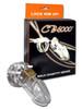 CB-X CB-6000 Chastity Cage Clear Male Cock Bondage BDSM Chastity Lock