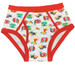 Cuddlz red colourful frog and animal pattern adult sized mens cartoon underpants briefs y-fronts