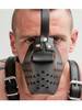 Mister B Leather Dog Muzzle Pup Puppy Play Fetish Mask