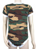 Cuddlz Green Camouflage fleece onesie for adults ABDL clothing adult baby diaper lovers Romper Sleepsuit