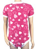 Pink hearts patterned onesie for adults ABDL Adult Baby Clothing Diaper lovers
