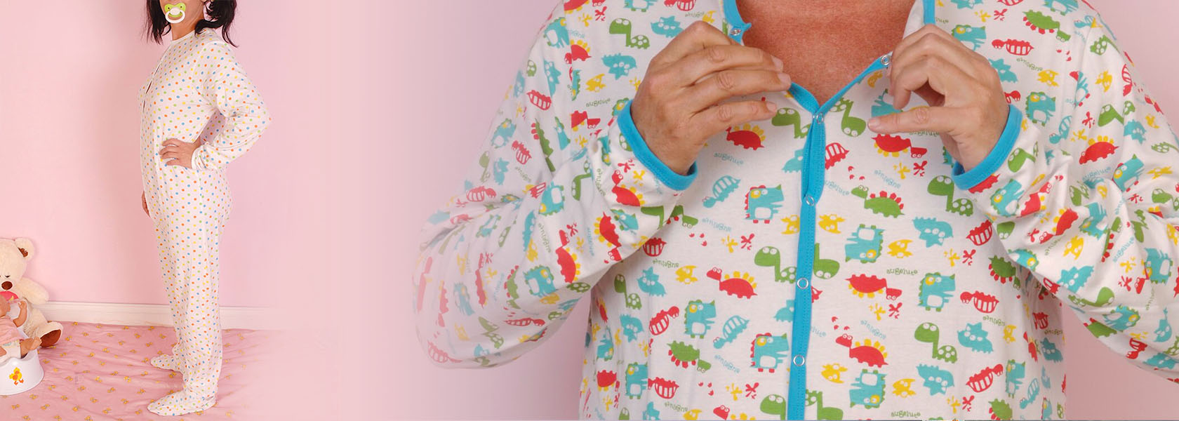 Cuddlz adult onesies short and long abdl