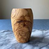 Barrel Shaped Wooden Tumbler