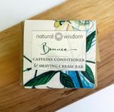 Bounce Caffeine Conditioner & Shaving Cream.