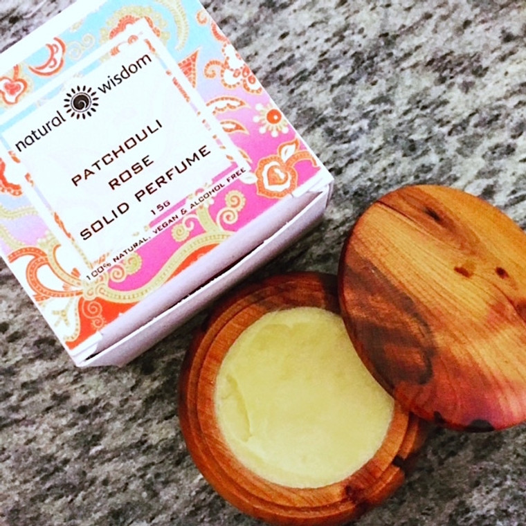 Patchouli Rose- Solid Perfume & Cologne 7.5g - 15g