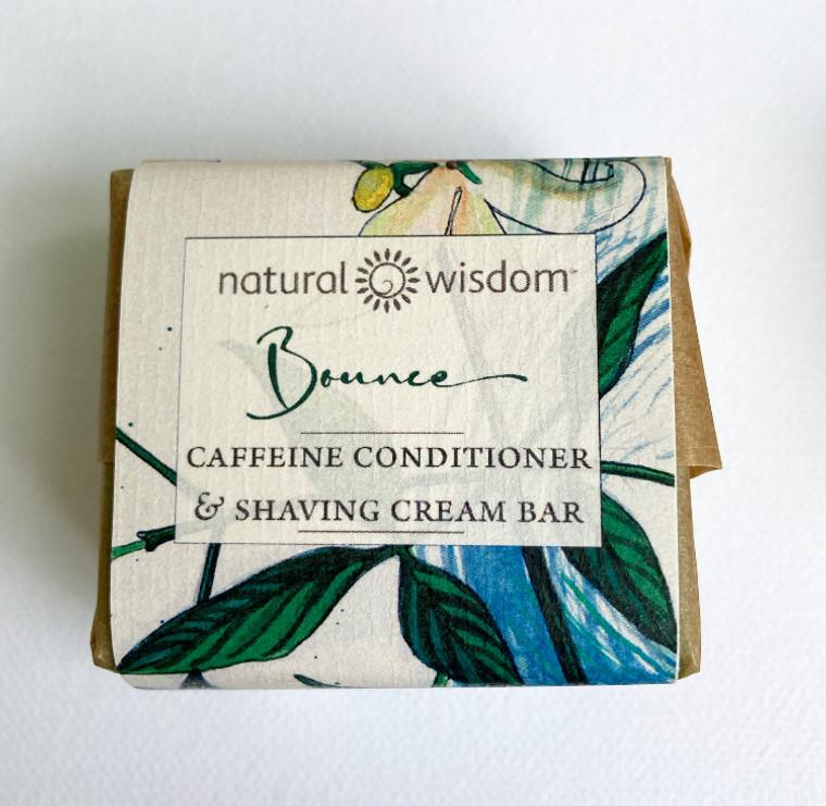 Bounce Caffeine Conditioner & Shaving Cream