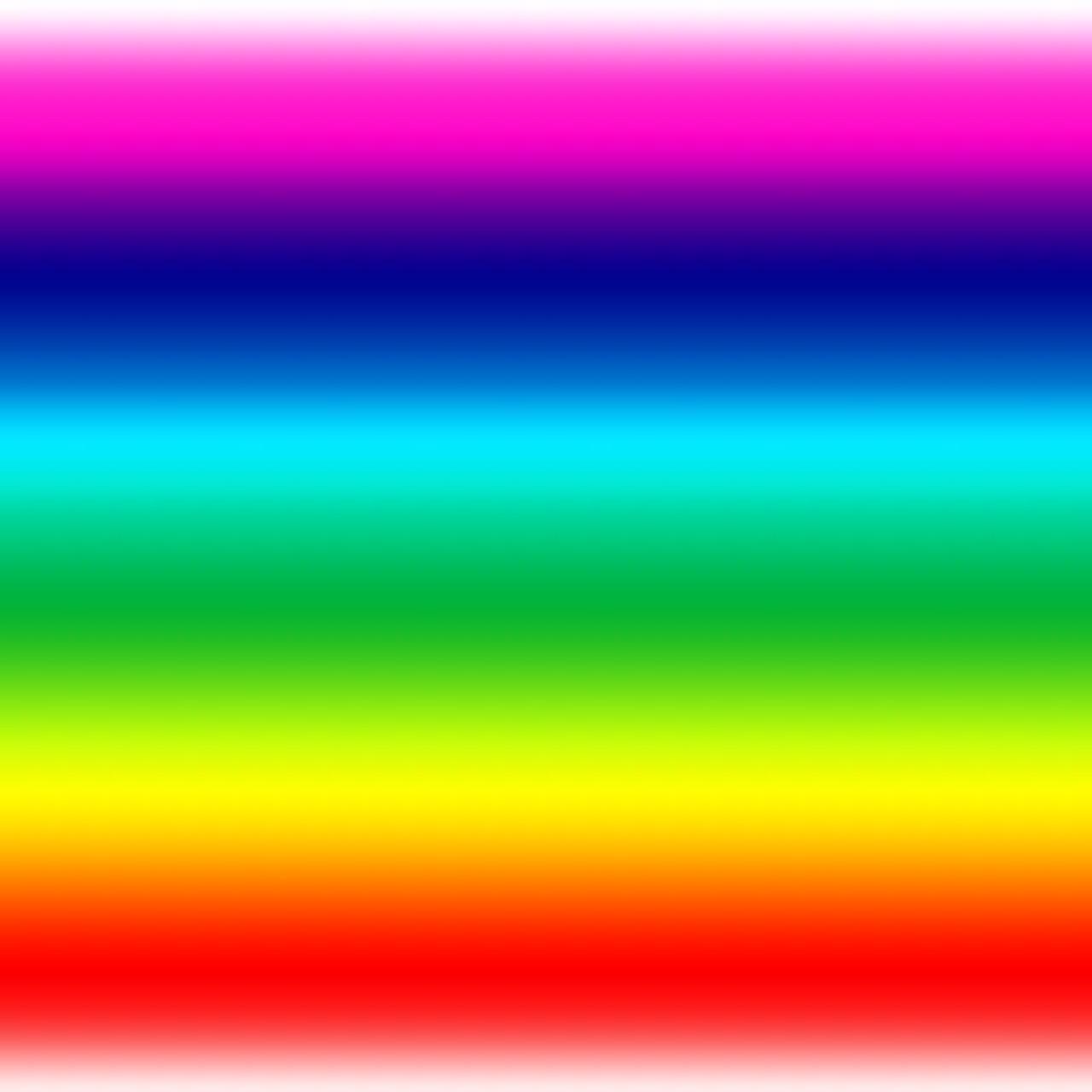 Rainbow Coloured Lollies