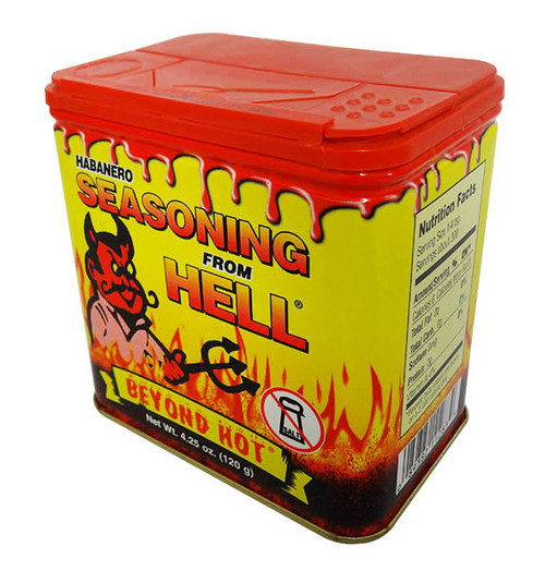 From Hell - Habanero Seasoning, by Southwest Specialty Food Inc,  and more Snack Foods at The Professors Online Lolly Shop. (Image Number :16716)