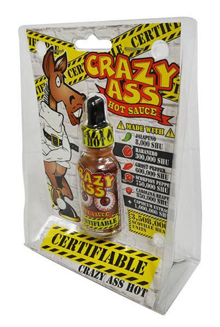 Crazy Ass Hot Sauce (59ml in a Dropper Bottle)