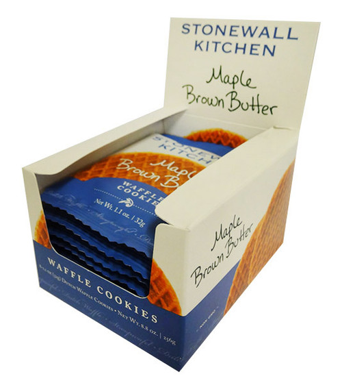 Stonewall Kitchen - Maple Brown Butter Waffle Cookie and more Snack Foods at The Professors Online Lolly Shop. (Image Number :16704)
