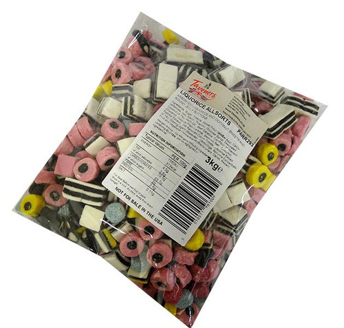 Taverners - Liquorice Allsorts (3kg bag)