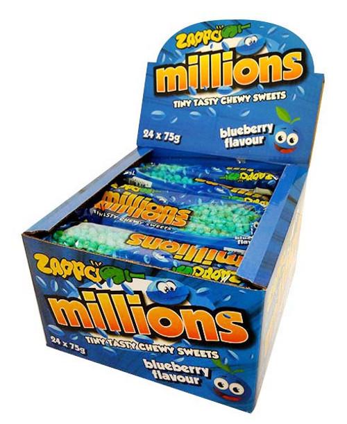 Zappo Millions - Blueberry (24 x 75g)