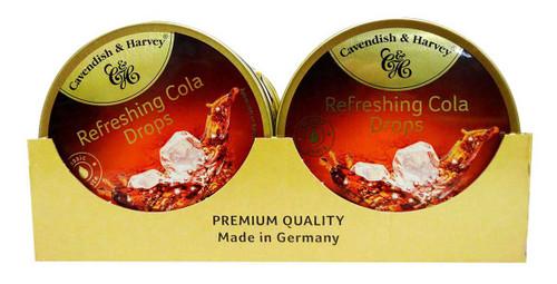 Cavendish & Harvey - Cola Drops (10pc x 175g tin)