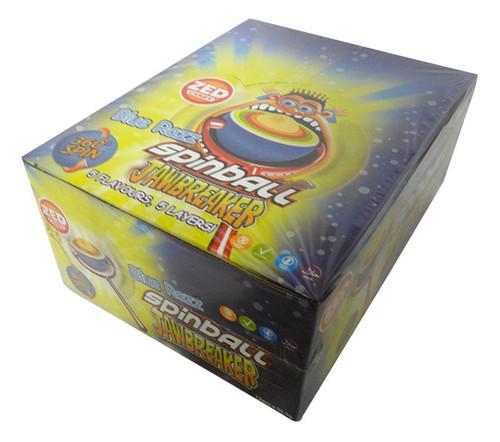 Blue Razz Spinball Jawbreaker (12 x 55g in a Display Box)