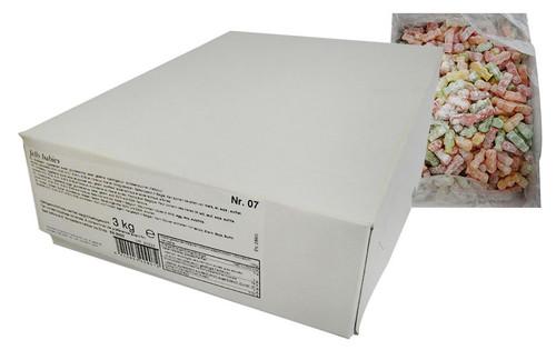 Bon bonheur - Dusted Jelly Babies (3kg box)