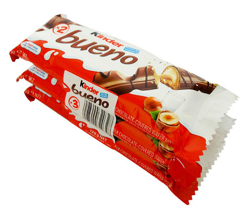 Kinder Bueno 3pack, by Kinder/Kinder Bueno,  and more Confectionery at The Professors Online Lolly Shop. (Image Number :17076)