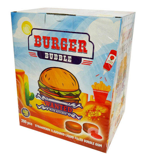 iLham Sweets - Burger Bubble  (200 pieces in a display unit)
