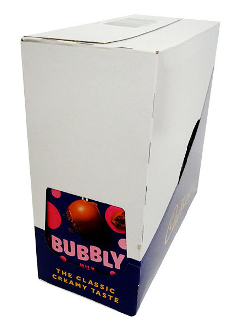 Cadbury Dairy Milk Bubbly, by Cadbury,  and more Confectionery at The Professors Online Lolly Shop. (Image Number :17057)