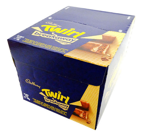 Cadbury Twirl Breakaway, by Cadbury,  and more Confectionery at The Professors Online Lolly Shop. (Image Number :17063)
