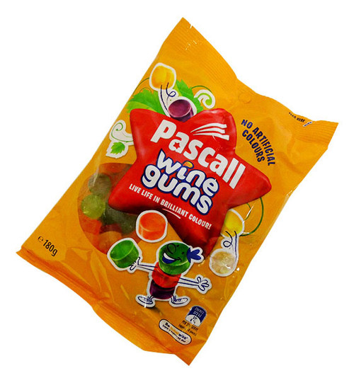 Pascall Wine Gums, by Pascall,  and more Confectionery at The Professors Online Lolly Shop. (Image Number :17086)