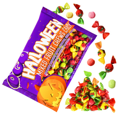 Halloween Fruit Chews, by AIT Confectionery,  and more Confectionery at The Professors Online Lolly Shop. (Image Number :17014)