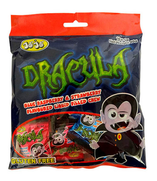 JoJo Dracula Sour Chews at The Professors Online Lolly Shop. (Image Number :17119)