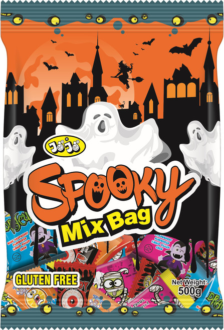 JoJo Spooky Mix at The Professors Online Lolly Shop. (Image Number :17013)