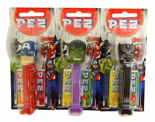 Pez Candy Dispensers - Avengers (6 x 17g)