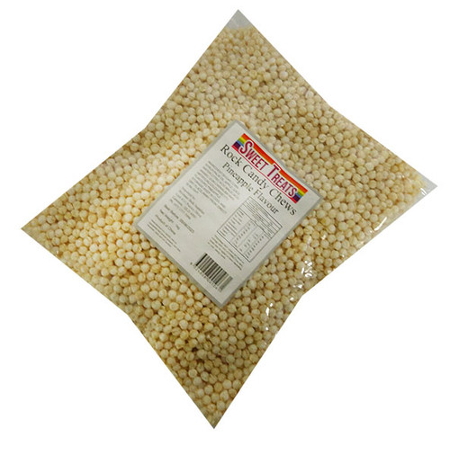 Sweet Treats - Rock Candy Chews - White (1kg bag)