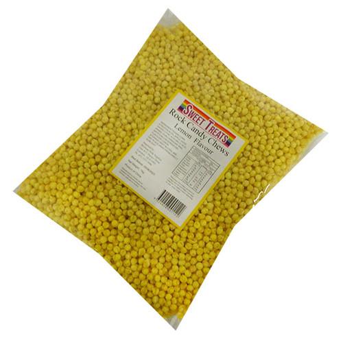 Sweet Treats - Rock Candy Chews - Yellow (1kg bag)