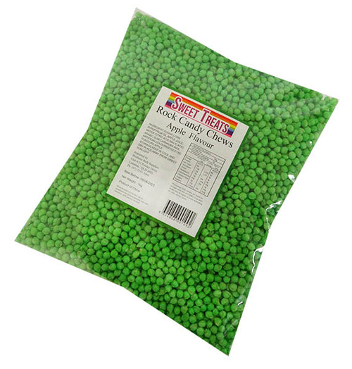 Sweet Treats - Rock Candy Chews - Green at The Professors Online Lolly Shop. (Image Number :17233)
