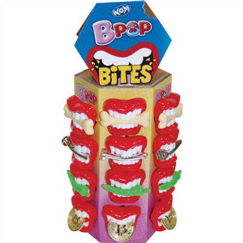 Bpop Bites Pacifiers, by Universal Candy,  and more Confectionery at The Professors Online Lolly Shop. (Image Number :17151)