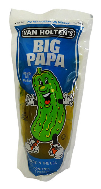 Van Holtens Pickle-in-a-Pouch - Big Papa