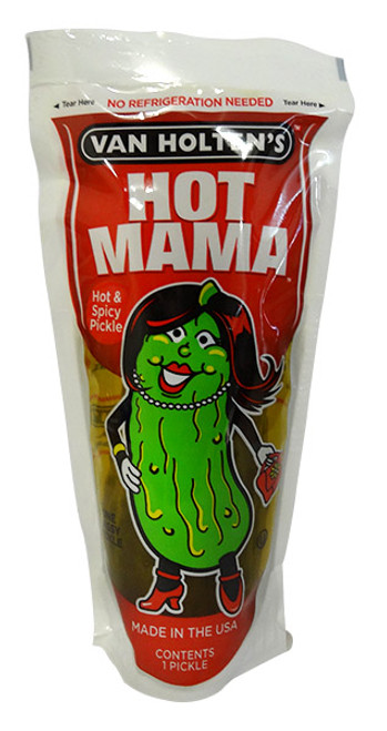 Van Holtens Pickle-in-a-Pouch - Hot Mama