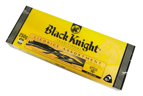 Black Knight Licorice Assortment - Single and more Confectionery at The Professors Online Lolly Shop. (Image Number :17171)