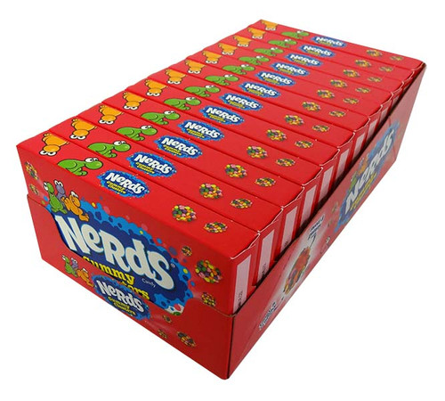 Nerds Gummy Clusters- Theatre box at The Professors Online Lolly Shop. (Image Number :17219)