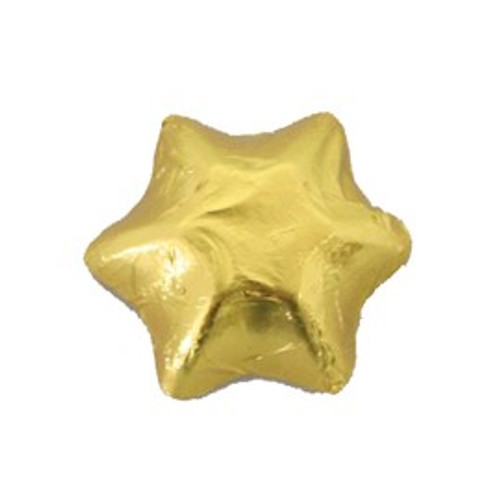 Belgian Milk Chocolate Stars - Gold and more Confectionery at The Professors Online Lolly Shop. (Image Number :17182)