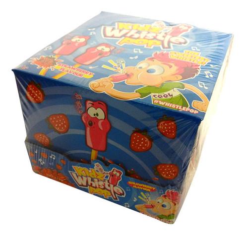 Kidz Whistle Pops ( 32 x 13g lollipops in a display)