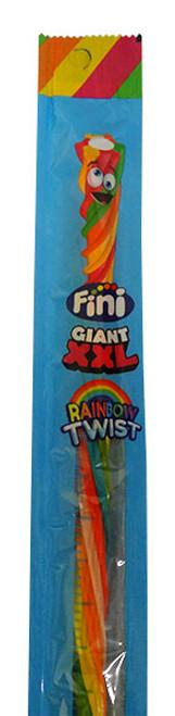 Fini Giant XXL Rainbow Twists (24 x 30g Twists in a display box)
