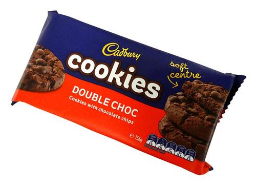 Cadbury Cookies Double Choc ( 6 x 26g)