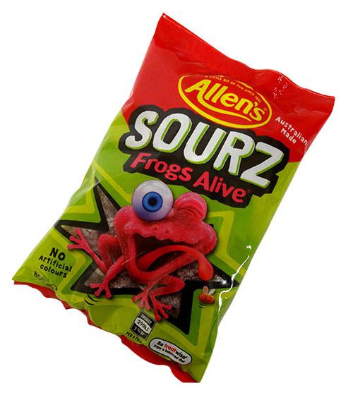 Allens Sourz Frogs Alive (850g bag)