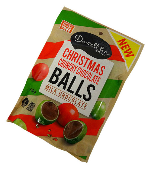 Darrell Lea - Christmas Crunchy Chocolate Balls