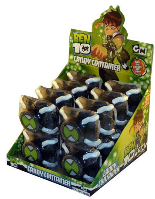 Ben 10 Candy Watch Container, by Other,  and more Confectionery at The Professors Online Lolly Shop. (Image Number :1917)