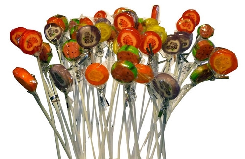 Tall Treats - Funky Fruits, by The Professors Tasty Technology,  and more Confectionery at The Professors Online Lolly Shop. (Image Number :2279)