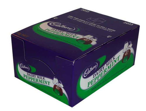 Cadbury Dairy Milk Peppermint Rolls, by Cadbury,  and more Confectionery at The Professors Online Lolly Shop. (Image Number :1937)