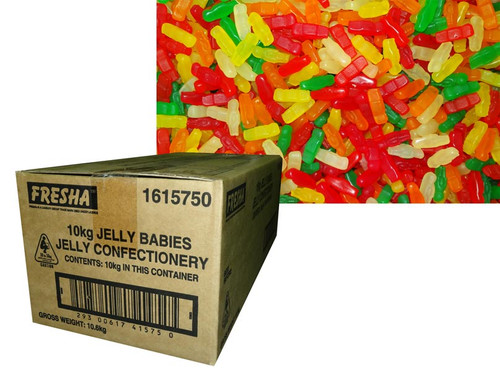 Cadbury Fresha Jelly Babies, by Cadbury/Cadbury Fresha,  and more Confectionery at The Professors Online Lolly Shop. (Image Number :6530)