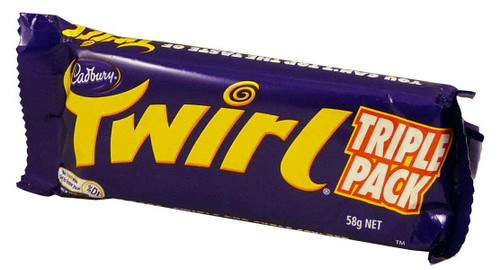 Cadbury Twirl King Size - Triple Pack, by Cadbury,  and more Confectionery at The Professors Online Lolly Shop. (Image Number :1951)