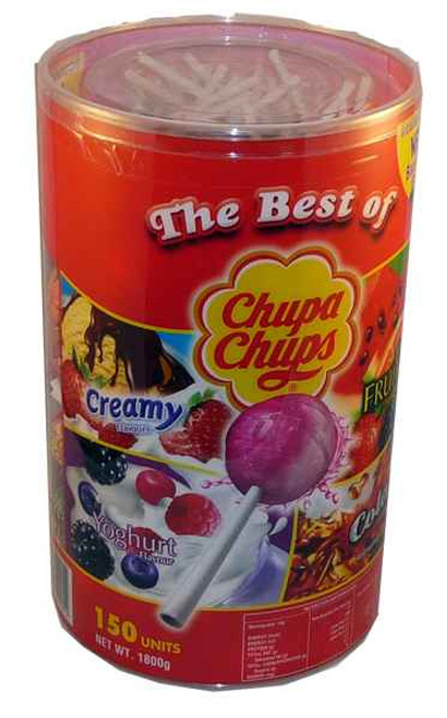 Chupa Chups - Best Of -, by Perfetti Van Melle,  and more Confectionery at The Professors Online Lolly Shop. (Image Number :1963)