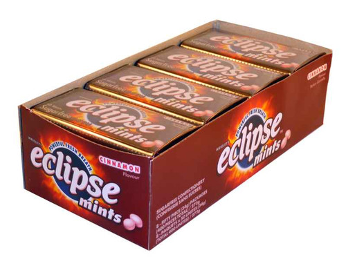 Eclipse Cinnamon Mints, by Wrigley,  and more Confectionery at The Professors Online Lolly Shop. (Image Number :1970)